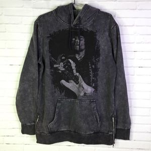 American Stitch Jimi Hendrix Mens Pullover Hoodie